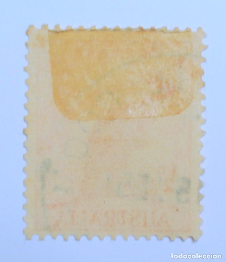 Sellos: Sello postal AUSTRALIA 1949, 1/2 d, CANGURO ROJO, Usado - Foto 2 - 153564750