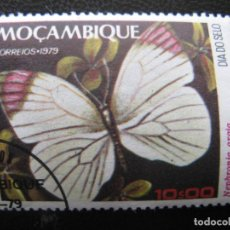 Sellos: SELLO DE MOZAMBIQUE,MARIPOSA. Lote 155457146