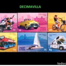 Sellos: CUBA, TRANSPORTES TURISTICOS, 2018, TRVA082. Lote 155669710