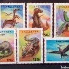 Sellos: DINOSAURIOS SERIE DE SELLOS NUEVOS DE MADAGASCAR. Lote 155759245
