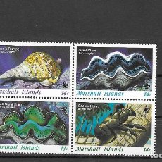 Timbres: MARSHALL Nº 111 AL 114 (**). Lote 160697274