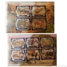 Sellos: HB R. MALI MTDA/2017/AFRICA/FAUNA, ANIMALES SALVAJES/JIRAFA/TIGRE/SABANA/NATURALEZA/ÑU/GACELA/CEBTA/. Lote 168873006
