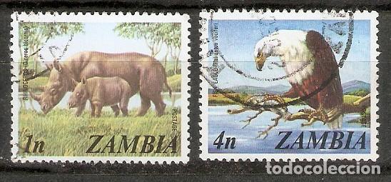 ZAMBIA,1975. FAUNA (Sellos - Temáticas - Fauna)