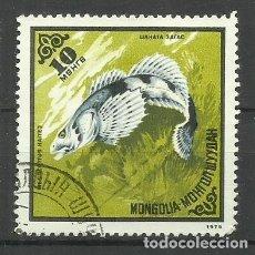 Sellos: FAUNA MONGOLIA - SELLO USADO. Lote 176218592