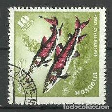 Sellos: FAUNA MONGOLIA - SELLO USADO. Lote 176218640