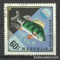 Sellos: FAUNA MONGOLIA - SELLO USADO. Lote 176218682