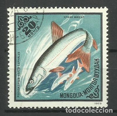 FAUNA MONGOLIA - SELLO USADO (Sellos - Temáticas - Fauna)