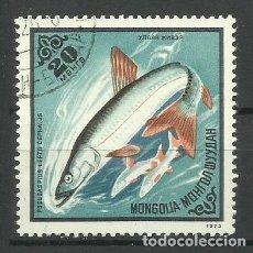 Sellos: FAUNA MONGOLIA - SELLO USADO. Lote 176218688