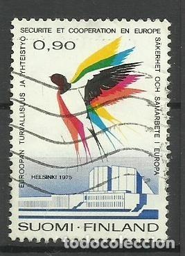 FAUNA FINLANDIA - SELLO USADO (Sellos - Temáticas - Fauna)