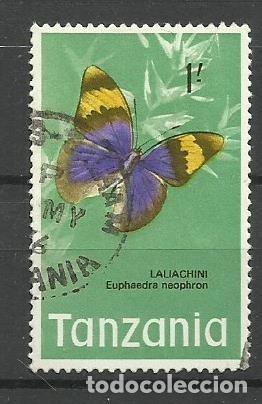 FAUNA TANZANIA - SELLO USADO (Sellos - Temáticas - Fauna)