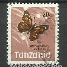 Sellos: FAUNA TANZANIA - SELLO USADO. Lote 176289603
