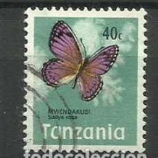 Sellos: FAUNA TANZANIA - SELLO USADO. Lote 176289629
