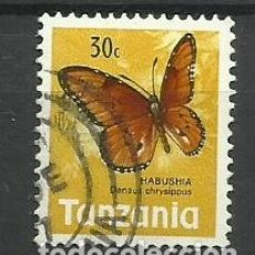 Sellos: FAUNA TANZANIA - SELLO USADO. Lote 176289675
