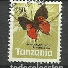Sellos: FAUNA TANZANIA - SELLO USADO. Lote 176289694