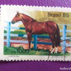Sellos: SELLO DE BRASIL. AÑO 1985. YVERT 719. FAUNA. CABALLO.. Lote 179250900