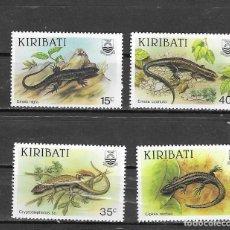 Sellos: KIRIBATI Nº 172 AL 175 (**). Lote 180028067