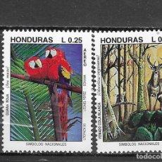 Sellos: HONDURA Nº 809 AL 810 (**). Lote 180030987