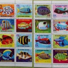 Sellos: GUINEA ECUATORIAL PECES 1974 GE-06. Lote 180465272
