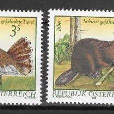 Sellos: AUSTRIA Nº 1546 AL 1548 (**). Lote 271451928