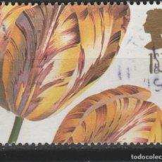 Sellos: LOTE Y--SELLOS FLORA FLORES. Lote 197102191