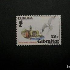 Francobolli: /26-03/-GIBRALTAR-1986-29 P. Y&T 514 EN NUEVO CON CHARNELA(**MLH)-PAJAROS. Lote 198362250