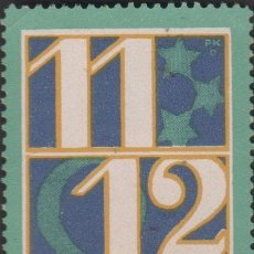 Sellos: F10-2-8 ALEMANIA VIÑETA PUBLICITARIA CONMEMORATIVA DEL (11-12-13) 11 DEZEMBER 1913. Lote 199000378