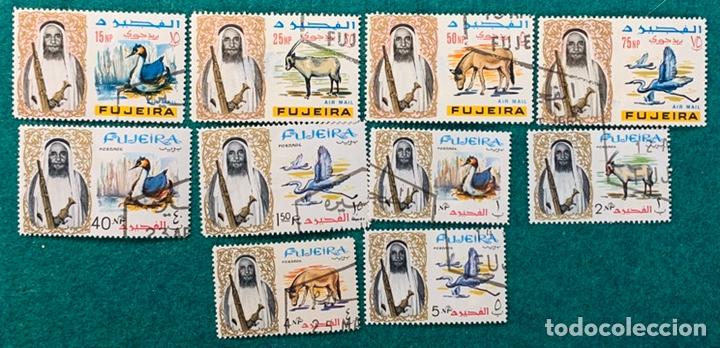 Sellos: FICHA SELLOS FUJEIRA AVES Y OTROS ANIMALES - Foto 2 - 199401920