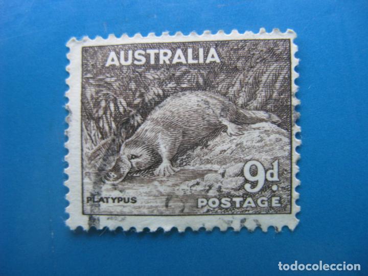 +AUSTRALIA 1937, ORNITORRINCO, YVERT 117 (Sellos - Temáticas - Fauna)