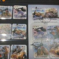 Sellos: HB R. MOZAMBIQUE MTDOS/2011/ANIMALES/VIDA/FAUNA/MARINA/FOCA/LEON/MARINO/MORSA/MAMIFEROS/. Lote 204720852
