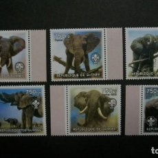 Timbres: /11.05/-GUINEA-2002- SERIE COMPLETA EN NUEVO SIN FIJASELLOS(**MNH). Lote 205754031