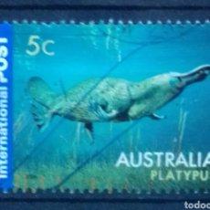 Timbres: AUSTRALIA FAUNA MARINA SELLO USADO. Lote 209943178