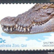 Timbres: AUSTRALIA COCODRILO SELLO USADO. Lote 210002540