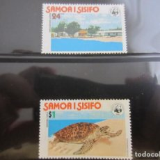 Sellos: SAMOA WWF 2 V. NUEVO. Lote 211611247