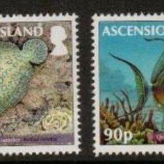 Sellos: SELLOS ASCENSION ISLAND 2012 AVES PECES DE ARRECIFE. Lote 213582523