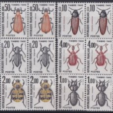 Sellos: F-EX18557 FRANCE MNH 1981 TIMBRES TAXES POSTAGE DUE INSECT ENTOMOLOGY.. Lote 214407160