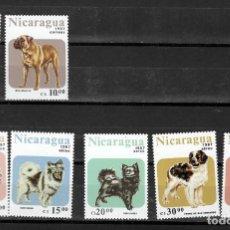 Timbres: NICARAGUA Nº 1470 AL 1471 Y AE 1195 AL 1199 (**). Lote 214461987