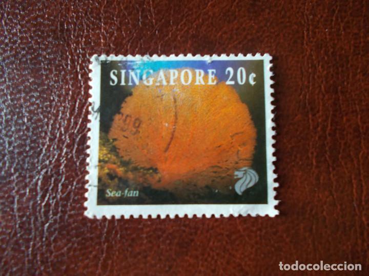 SEA-FAN SINGAPORE (Sellos - Temáticas - Fauna)