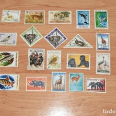 Sellos: 20 SELLOS AFRICANOS FAUNA. Lote 217107426