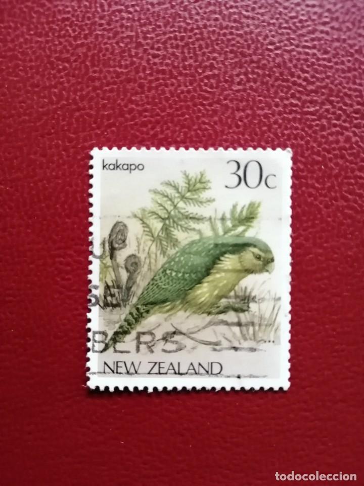 NUEVA ZELANDA - VALOR FACIAL 30 C - FAUNA - KAKAPO (Sellos - Temáticas - Fauna)