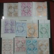 Sellos: SELLOS R. D. VIETNAM NORTE MTDOS/1984/FAUNA/FLORA/FLORES/TIGRE/ROSA/NATURALEZA/DALIA/CALAO/PELICANO/. Lote 223274945