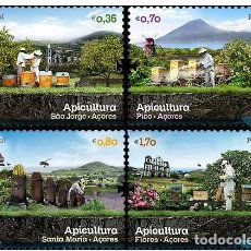Sellos: 7.- PORTUGAL 2013 APICULTURA ABEJAS. Lote 225610255