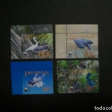 Sellos: /03.12/-PENRHYN-2008-Y&T 589/92 SERIE COMPLETA EN NUEVO(**MNH) A 10%-WWF-PAJAROS. Lote 228233685