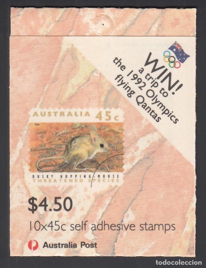 Sellos: AUSTRALIA. 1992 YVERT Nº C 1249b /**/, Fauna en Peligro de Extinción - Foto 2 - 232500285