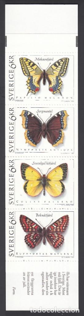 SUECIA. 1993 YVERT Nº C 1759 /**/, MARIPOSAS (Sellos - Temáticas - Fauna)