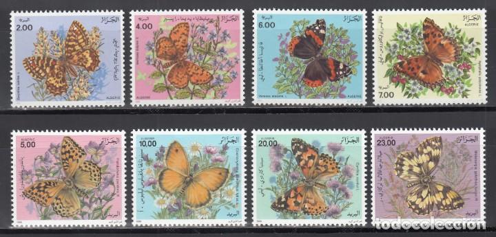 ARGELIA, 1991-1996, YVERT Nº 1005 / 1008, 1112 / 1115, /**/, MARIPOSAS (Sellos - Temáticas - Fauna)