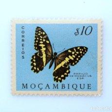 Sellos: SELLO POSTAL MOZAMBIQUE 1953 , 10 ESCUDO, PAPILIO DEMODOCUS, MARIPOSA COLA DE GOLONDRINA, SIN USAR. Lote 233872155