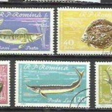 Sellos: 512-SERIE COMPLETA RUMANIA 1969 PECES, FAUNA MARINA Nº 1741 / 7 USADOS, CALIDAD ENVIOS COMBINADOS SI. Lote 241113535