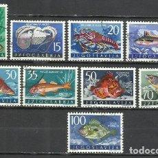Sellos: 020C-YUGOSLAVIA JUGOSLAVIA SERIE COMPLETA PECES 16,60€ 1956 Nº 697/05 FAUNA MARINA BONITOS VENDO S. Lote 241274290