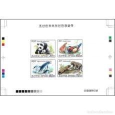 Sellos: 🚩 KOREA 2010 ФАУНА MNH - BIRDS, FAUNA, THE BEARS, CATS, DOLPHINS. Lote 244890175