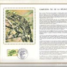 Sellos: EDITIONS CEF CAMALEON ILE DE LA REUNION 1971. Lote 245788950
